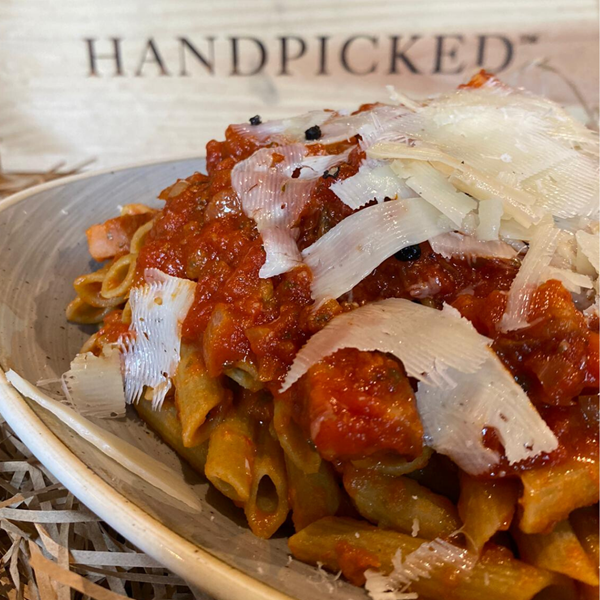Handpicked wines cook at home pasta