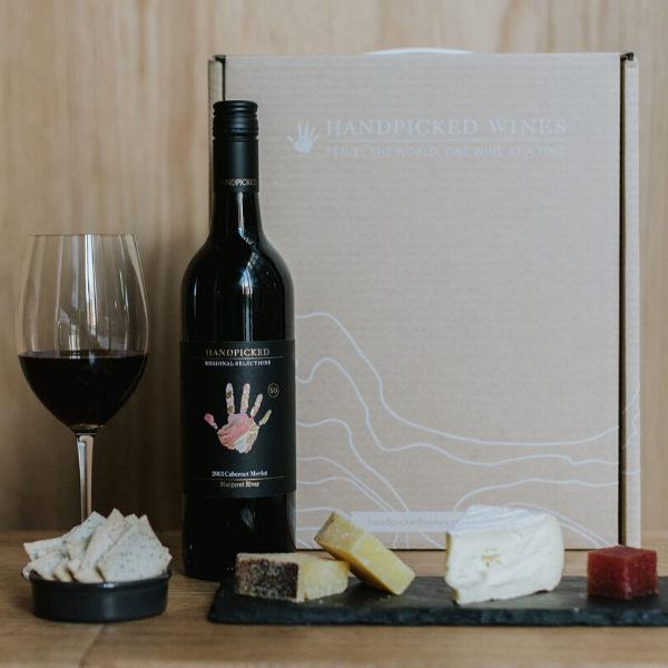 Handpicked Red Wine Cheese Gift Pack