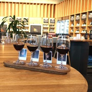 Picture of The Dark Wine  Flight