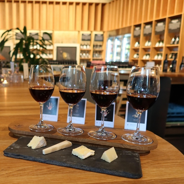 Picture of The Dark Flight Wine & Cheese Pack