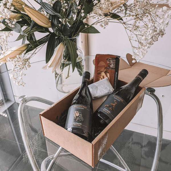 Picture of The Fireside Wine & Cheese Luxe Pack