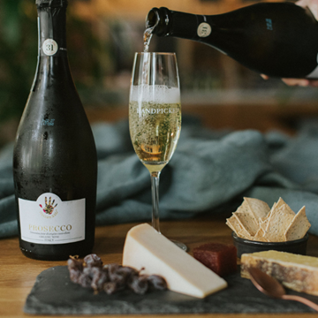 Handpicked Wine Cheese Gift