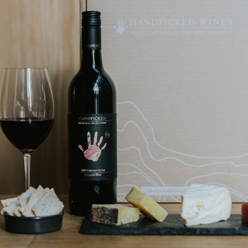 Handpicked Wine and Cheese Gift