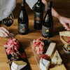 A wine and cheese spread at Handpicked Cellar Door