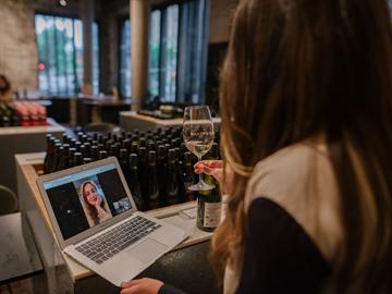 private virtual wine tasting