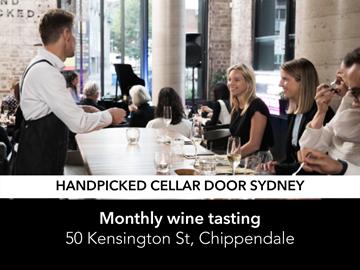 A wine tasting at the handpicked cellar door Sydney