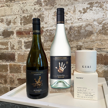 Mother Day Gift Pack 5 includes two premium wines from Marlborough and Yarra Valley