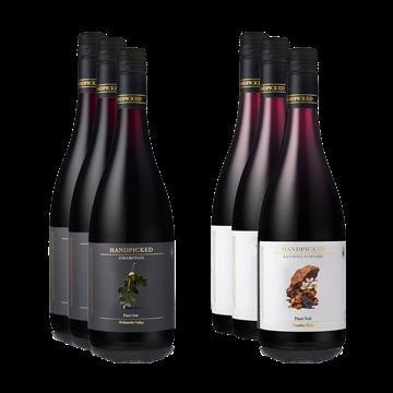 La Sierra Bottle Front and Collection Oregon Pinot Noir bottle front