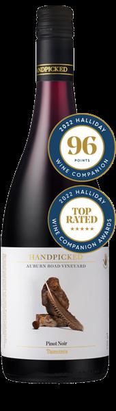 Single Vineyard Auburn Road Tasmania Pinot Noir Bottle Front View
