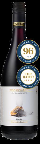 2018 Capella Vineyard Mornington Peninsula Pinot Noir Bottle Front View