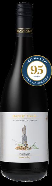Single Vineyard Highbow Hill Pinot Noir Bottle Front View